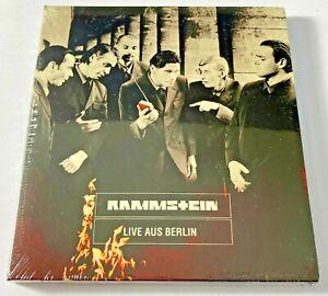 Rammstein - Live Aus Berlin - NEW CD (sealed digipack)  2021 Reissue