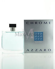 Chrome by Azzaro For Men Eau De Toilette 3.4 oz 100 ml Spray