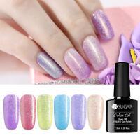 7.5ml UR SUGAR 10 Colors Gel Nail Polish Shiny  Soak-off UV Varnish