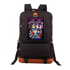 Super Smash Bros Backpack School Shoulder  Laptop travel bag New/wtag