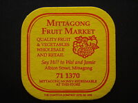 MITTAGONG FRUIT MARKET ALBION ST 711370 COASTER