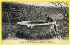 CPA France 78 - CHEVREUSE (Yvelines) Ruines de LA MADELEINE LE PUITS Animé Well