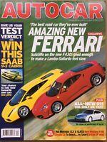 Autocar Magazine - 5 October 2004 - Ferrari F430 Merc SLK 55 AMG Porsche 911