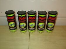 New Lot Of 15 Tennis Balls Championship Extra Duty Felt 5 Cans Sealed!*