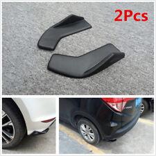 2X Car SUV Bumper Spoiler Rear Lip Canard Diffuser Front/Rear Wrap Angle Shovel