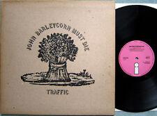 Traffic – John Barleycorn must die, original first UK copy, Pink Island