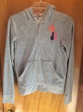 Juicy Couture zip up sweatshirt medium