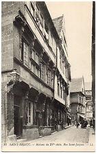 CPA 22 - SAINT BRIEUC (Côtes d'Armor) - 23. Maison du XVe s., rue Saint-Jacques