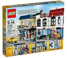 LEGO ® Creator 31026 vélo magasin & Café neuf emballage d'origine _ Bike shop & café New MISB NRFB