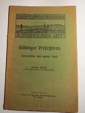 Göttinger Professoren - Hermann Wagner - Lebensbilder - 1924 / Göttingen