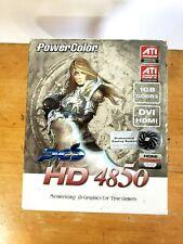 PowerColor ATI Radeon HD 4850 1GB GDDR3 PCS HDMI / VGA / DVI PCIe Graphics Card