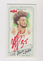 2018 Topps Allen & Ginter Marvin Bagley III Rookie Auto 05/10 Hand Numbered.RARE