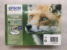 original Epson Multipack T1285 Patronen T1281 T1282 T1283 T1284 08/2019 Rechnung