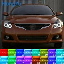 Multi-Color LED Angel Eyes Halo Rings Kit for Nissan Altima 2010-13 Accessories