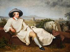 PAINTING PORTRAIT TISCHBEIN AUTHOR JOHANN VON GOETHE POSTER ART PRINT LF3033