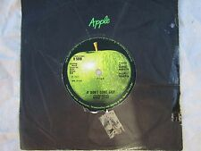 RINGO STARR IT DON'T COME EASY / EARLY 1970 apple 5898