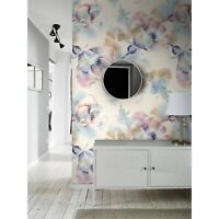 Floral Dream Watercolor Pattern removable wallpaper self adhesive wall mural