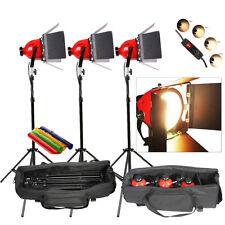 RHKITPB 3sets Photo Studio vidéo continu tête rouge lumière éclairage 800w DIMME