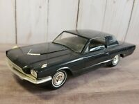 AMT 1966 Ford Thunderbird Philco Radio Promo 1:25 Scale Plastic Black Model Car