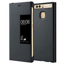 Huawei Bt51991554 View Flip Cover per P9 Plus Argento