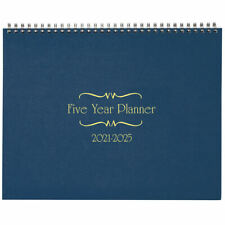 5 Year Calendar Diary 2021- 2025 Blue