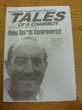 19/08/2000 Wycombe Wanderers v Northampton Town - Fanzine, Tales Of The Chairboy