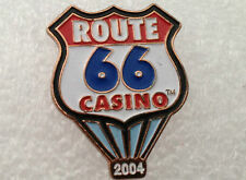2004 Route 66 Casino Balloon Enamel Metal Lapel Pin Pinback