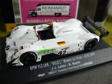 1/43 Onyx xgt011 BMW v12 LMR Becks WINNER Las Vegas ALMS 1999 Letho Soper #42