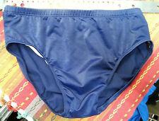 "Mystery Men's Navy Blue 4"" Bikini - Nylon/Spandex - Front Lined - Size US38"
