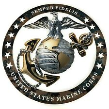 image relating to Printable Marine Corps Emblem named Maritime Corps Collectibles (Not known Day) for sale eBay