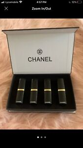 4 pc Chanel Lipstick Set