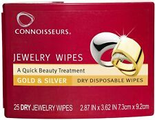 Connoisseurs Jewelry Wipes for Gold and Silver