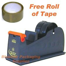 50mm Packing Tape Desktop Bench Dispenser With Free Roll of 50mm x 66m Tape