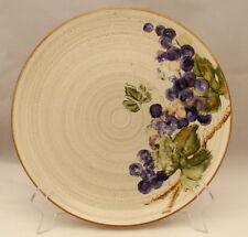 "222 Fifth Stoneware Studio GRAPEVINE PUTTY Dinner Plate(s) 10 3/4"""