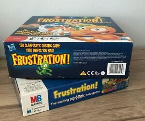 FRUSTRATION BOARD GAMES MB / HASBRO *Multi Listing* Spares or Full Game