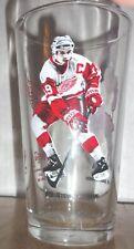 2002 Arby Coke Detroit Red Wings Glass - Yzerman & Fedorov