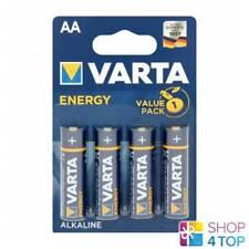 4 VARTA Energy Alkaline Batteries Aa LR6 4106 Mignon MN1500 1.5V Exp 2026 New