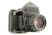 【 EXC+5 】 PENTAX 6x7 TTL Mirror Up 67 + SMC Takumar 105mm f/2.4 from JAPAN