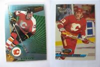 1997-98 Pacific Dynagon #19 Titov German  ice blue  flames