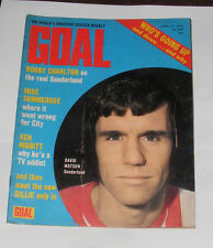 GOAL FOOTBALL MAGAZINE NO.242 APRIL 21ST 1973 SHEFFIELD WEDNESDAY SQUAD
