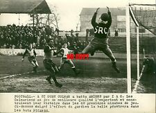 Photo de presse Football 1948 Colmar Amiens à Saint Ouen SRC sport soccer
