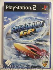 COMPLET Jeu SPEEDBOAT GP playstation 2 sony PS2 francais sport hors-bord course