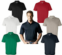 ADIDAS GOLF Mens A55 S-2XL, 3XL ClimaLite CoolMax Tech Polo dri-fit Sport Shirt
