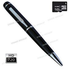 Pen Camera 16GB Mini 720P HD Video USB Security Recorder Body Cam no SPY Hidden