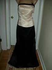 FORMAL DRESS EVENING BALL GOWN PROM PARTY COCTAIL WEDDING BRIDESMAID SIZE 14 !!