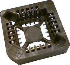 Lot of 5 Tyco TE PLCC Socket 20 Positions 1.27mm Centerline SMD SMT 3-822499-3
