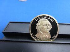 2007-S John Adams Clad Dollar Deep Cameo Mirror Proof Upper Grade Ranges