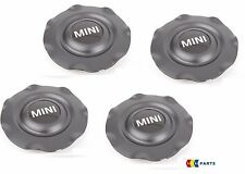 MINI NEW GENUINE MINI HUB CAP R17 FOR NIGHT SPOKE ALLOY WHEELS SET OF 4 PCS