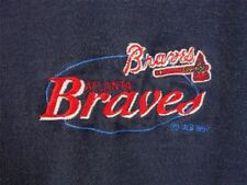 Atlanta Braves 1997 Polo XL Blue Short Sleeve Embroidered Logo