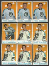 1970-71 OPC Hockey Lot Pittsburgh Penguins Prentice Pronovost Boyer EX EX-MT